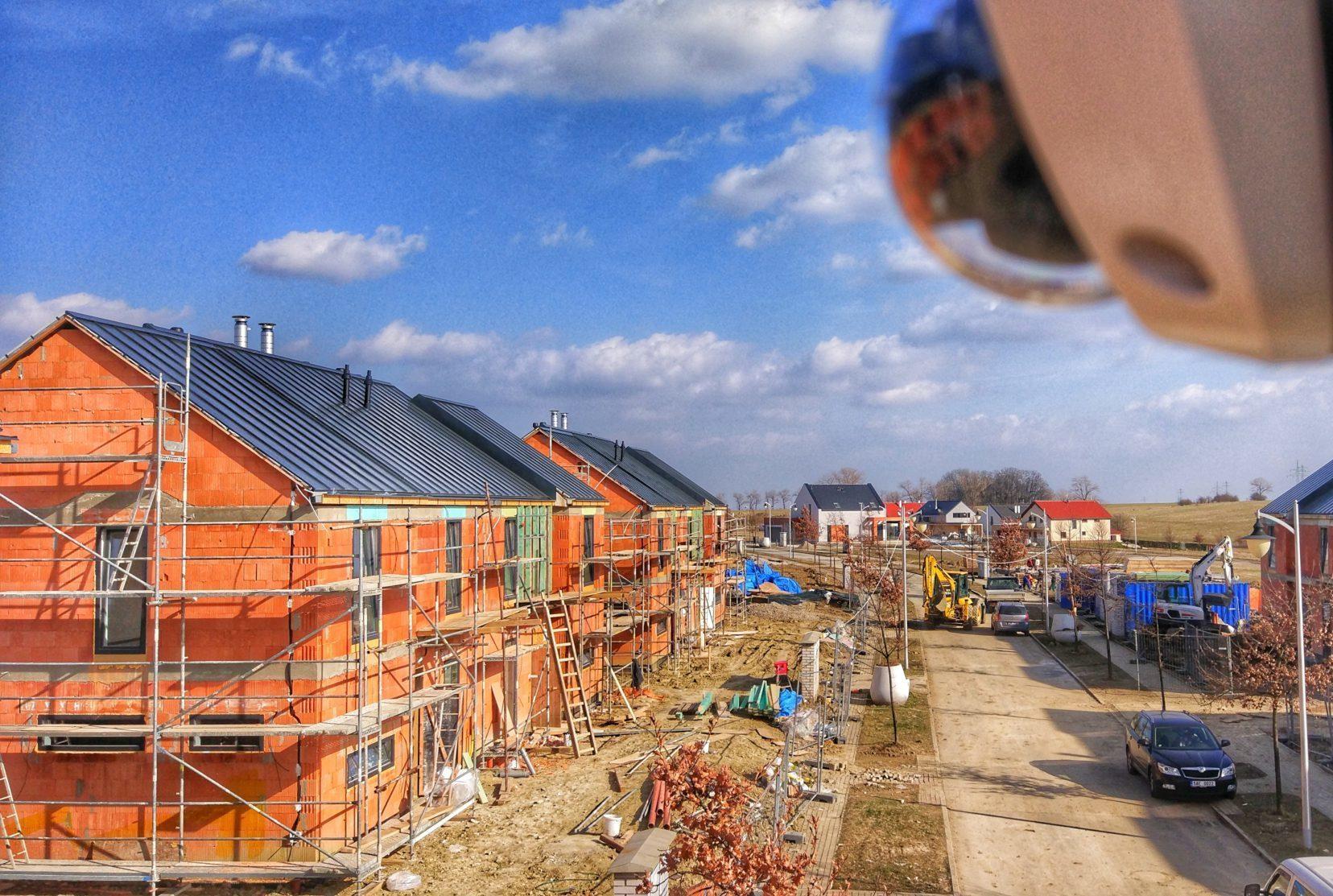 Kamerový systém na stavbě