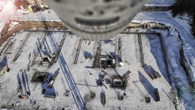 Kamerový dohled stavby