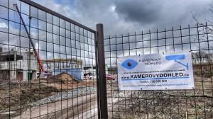 kamerový systém - označení stavby